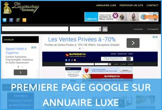 annuaire luxe