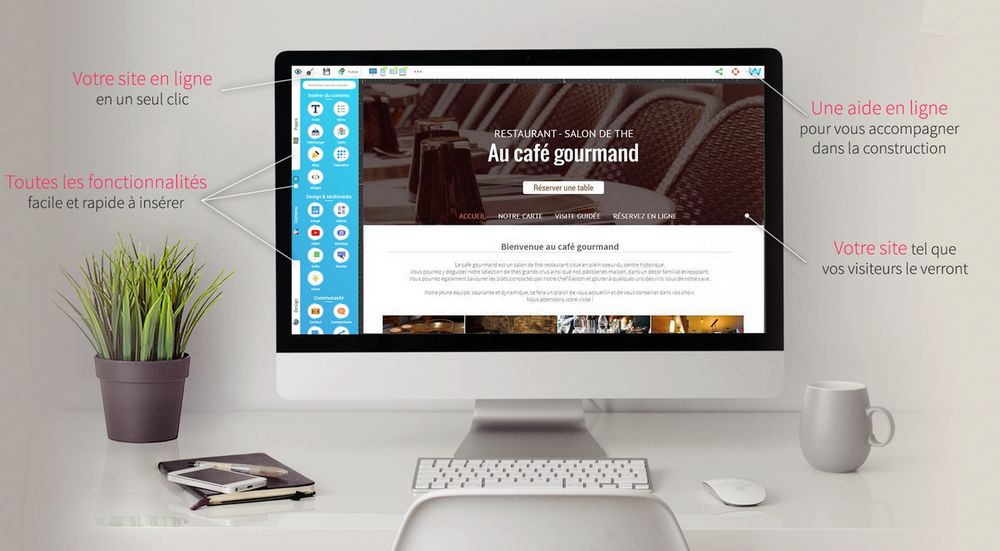 creer un site gratuit